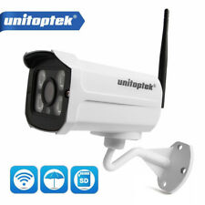 Onvif WiFi Bullet IP Camera Outdoor IR Cut Wireless Security Camera SD Slot P2P