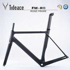 Carbon Road Bike Frame+Seatpost+Fork BSA Full Carbon Fiber Bicycle Frameset