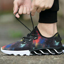Mens Athletic Shoes Breathable Running Jogging Sports Sneakers Trainning Size 10