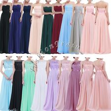Sexy Women's Long Maxi Evening Cocktail Formal Party Prom Bridesmaid Gown Dress