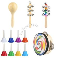 Shake Toy Shaker Percussion Musical Learning Rattle Music Gifts Baby Kids Child