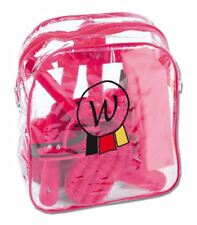 Waldhausen Kids Girls Horse Riding Care Pony Backpack Grooming Brushes Combs Bag