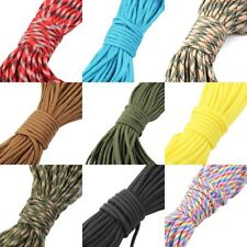 30M 550 Paracord Parachute Cord Lanyard Mil Spec Type III 7 Strand Core100FT GS