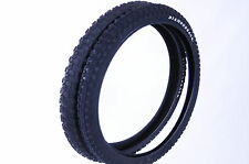 BMX TYRES 20 x 1.75 AND 20 x 2.125 DIAMOND BACK COMP III STYLE TREAD ALL BLACK