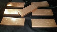 .9999 Copper Bullion Bars, Brand New, Minted in United States 100% Guaranteed