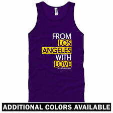 From Los Angeles With Love Unisex Tank Top - Men Women XS-2X Long Beach Glendale