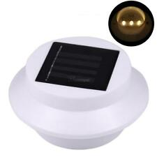 3 LED Solar Powered Light Outdoor/Garden/Yard/Wall/Fence/Pathway Lamp WT88