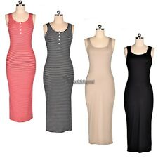 Angvns Ladies Women Sexy Sleeveless Sundress Stretch Bodycon Summer Beach WT8801