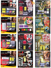 Halloween Make Up Kit Fancy Dress Costume Accessory Face Paint Special Effects