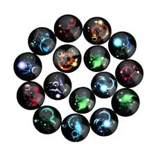 20pcs Assorted 18/20/25 mm Round Glass Cabochon Cameo Base Setting Jewelry Craft