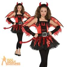 Teen Dare Devil Costume Halloween Child Fancy Dress Outfit New Age 12-16