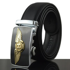 2018 Fashion Casual Mens Belt Genuine Leather Automatic Buckle Waistband Strap