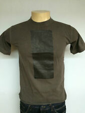 New Rick Owens SLAB sz s dk green as picture t-shirt solid tee wje bis unisex