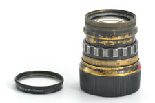 Leica Summicron-M 5cm 50mm f/2 Ver.1, Rigid Black Paint Brass Mount (Z17H0072)