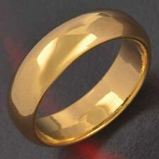 Wedding Gold Filled Mens womens promise vintage Band Ring Size 7 8 9 10 11