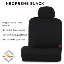 NEOPRENE BLACK CUSTOM COVERS FOR DODGE RAM (2012-2018)