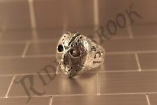 Friday the 13th Jason Voorhees Hockey mask biker movie ring Size US 8 - 14