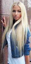 Brazilian Remy Hair Extensions Blonde Straight Hair Weave Virgin Hair Extensions