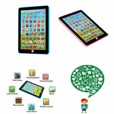 Kids Children English Learning Pad Toy Educational Computer Tablet Pink / Blue