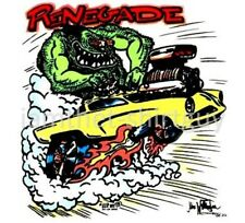 """1953 1954 STUDEBAKER LOEWY COUPE """"RENEGADE"""" MONSTER MUSCLE CAR T-SHIRT GE022"""
