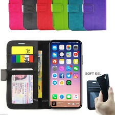 iphone X Slim Wallet Flip Credit Card Leather Pouch Pocket Cover for APPLE AU