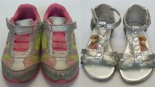 Toddler Girl's Sneakers/Sandals sz 7 each sold separately