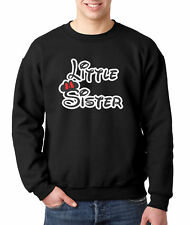 New Way 555 - Crewneck Little Sister Minnie Mouse Ears Bow Disney
