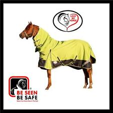 LOVE MY HORSE 5'0 - 6'9 1200D 300g Warm Winter Waterproof Combo Rug Lime / Navy