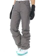 Volcom Charcoal Frochickie Insulated Womens Snowboarding Pants