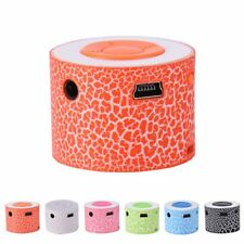 Mini Stereo Bass Portable MP3 Music Player Wireless Speaker Support TF Card
