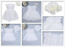 Christening Baptism Tulle Toddler Baby Girls Princess Flower Wedding Party Dress