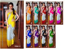 Indian Bollywood Style designer Saree wedding sari Traditional Wear ethnic 116