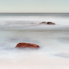 Seascape Print Mist and Rocks by Jeff Grant