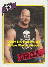 WWE Topps Heritage III 2007 Wrestling Trading Card #4 Steve Austin Stone Cold