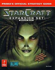 STARCRAFT EXPANSION SET BROOD WAR PRIMAS OFFICIAL STRATEGY GUIDE By Farkas Mint