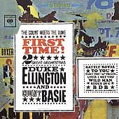 First Time! The Count Meets the Duke - Count Basie & Duke Ellington - Sealed New