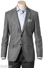 NWT $595 Hugo Boss Black Label Hounds Tooth Blazer Jacket Trim Fit Sport Coat