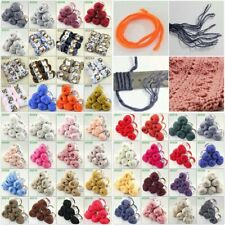 Sale New Yarn Soft Worsted Cotton Chunky Shawl Scarf Hand Knitting 3x50gr Balls