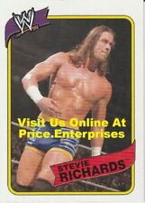 WWE Topps Heritage III 2007 Wrestling Trading Card #11 Stevie Richards wwf ecw