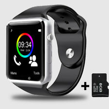A1 WristWatch Bluetooth Sport Pedometer with SIM Camera Smartwatch For Android