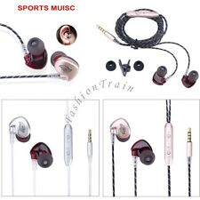 In-ear Headphones Wired Earbuds Heavy Bass Noise Cancelling Earphones Wired New