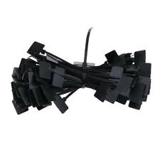 100 pieces Cable Ties Organizer White/Balck Self-locking Zip Wire accessory