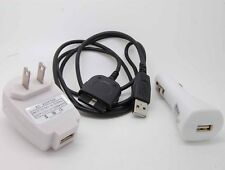 Wall Travel Car USB Cable Charger Dell for Axim X50 X50v X51 X51V_sx