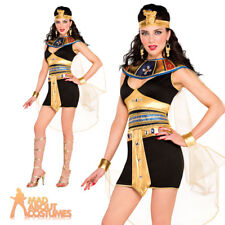 Adult Sexy Cleopatra Beauty Costume Fancy Dress Ladies Egyptian Goddess Outfit