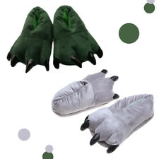 Indoor floor Slippers Dinosaur Claw Plush shoe Shoes Paw Home cotton shoe