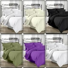 1200 1000 TC 100% Egyptian Cotton US Queen Size All Color Bedding Items Striped