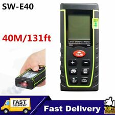40m Digital Laser Distance Meter Measurer Area Volume Range Finder Measure GA