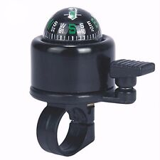 Accessories aluminum bike alarm horn mountain bike and bicycle bell with compass
