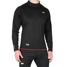 Oxford Layers Warm Dry Mens Motorcycle Base Layer Crew Neck Long Sleeve Top
