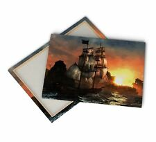 1Pc Pirate Ship Seascape Ocean Canvas Wall Art Painting Print Home Décor Gifts